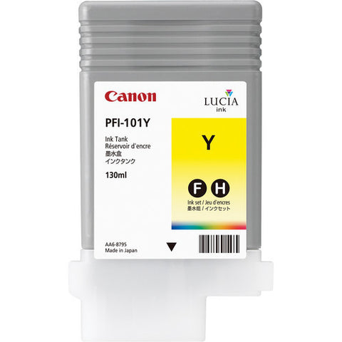 Canon | PFI-101Y Yellow Ink Tank (130 ml)