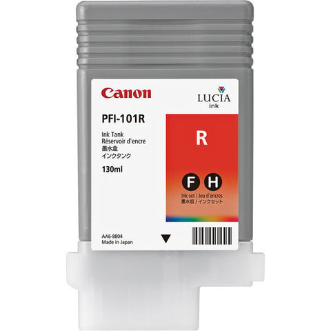Canon | PFI-101R Red Ink Tank (130 ml)
