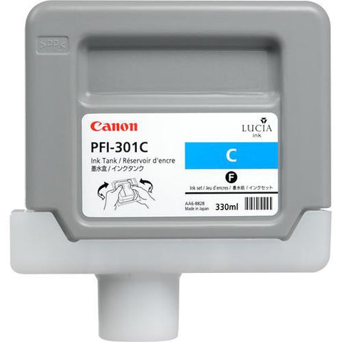 Canon | PFI-301C Cyan Ink Tank (330 ml)