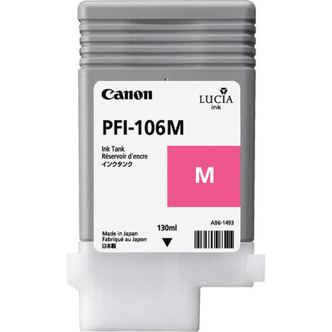 Canon | PFI-106 Magenta Ink Cartridge (130 ml)