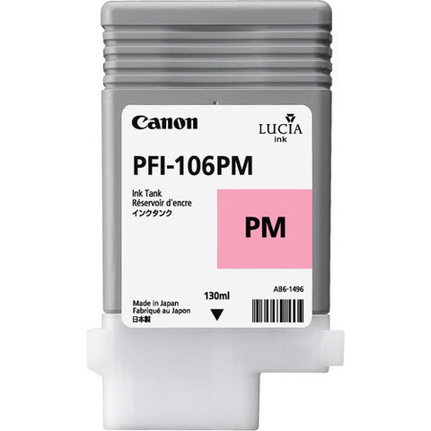 Canon | PFI-106 Photo Magenta Ink Cartridge (130 ml)