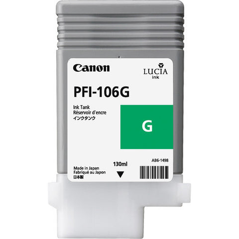 Canon | PFI-106 Green Ink Cartridge (130 ml)