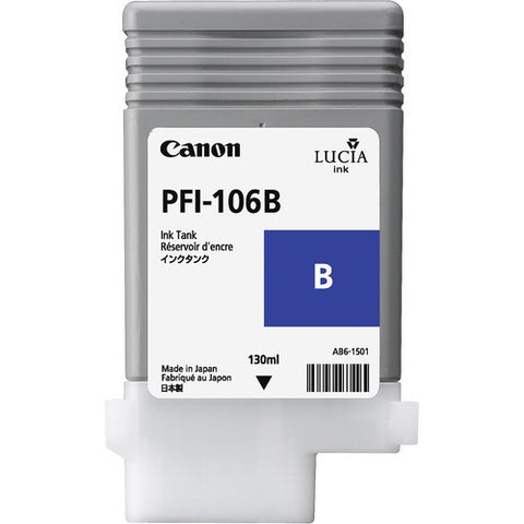 Canon | PFI-106 Blue Ink Cartridge (130 ml)