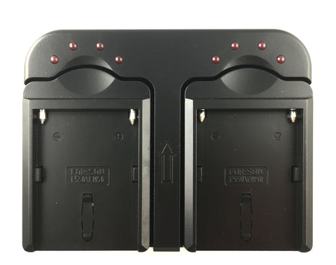 Double Charger for NP-F batteries
