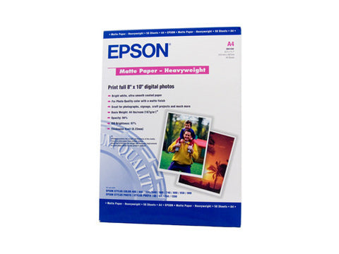 Epson | Matte Heavyweight Photo Paper A4 50 sheets