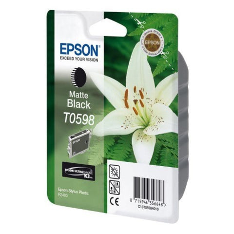 Epson | T0598 Matte Black Ink Cartridge for Stylus Photo R2400