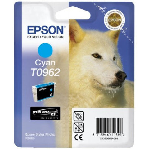 Epson | 96 UltraChrome K3 Cyan Ink Cartridge