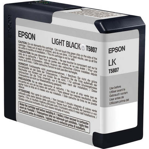 Epson | T5807 Light Black Ink Cartridge (80 ml)