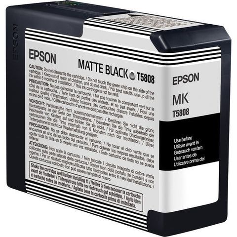 Epson | T5808 Matte Black Ink Cartridge (80 ml)