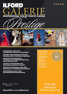 Ilford GALERIE Prestige Fine Art Smooth | Sheets