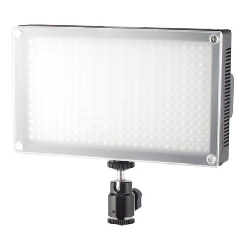 Glanz LED312AS Video/DSLR Light with Li-ion Battery