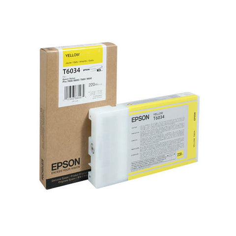 Epson | T6034 Yellow Ink Cartridge (220 ml)