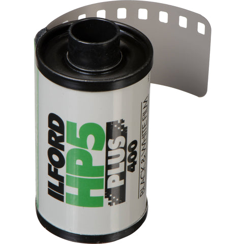 Ilford HP5 Plus Black and White Negative Film | 35mm Roll Film, 24 Exposures (50 Pack)