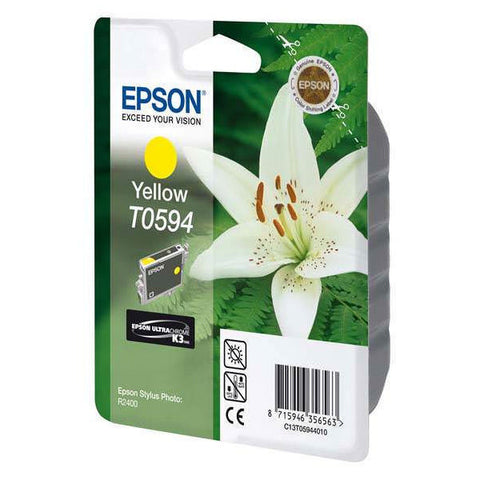 Epson | T0594 Yellow Ink Cartridge for Stylus Photo R2400