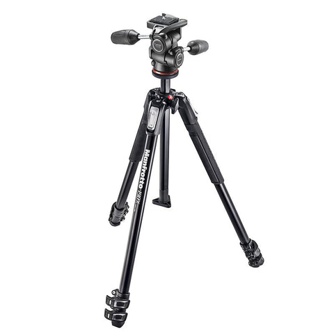 Manfrotto 190X3-3W with 3 way head
