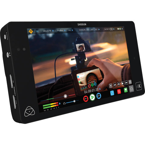 "Atomos | Shogun 4K HDMI/12G-SDI Recorder and 7"" Monitor"