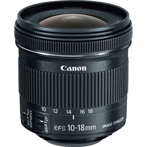 Canon | EF-S 10-18mm f/4.5-5.6 IS STM Lens