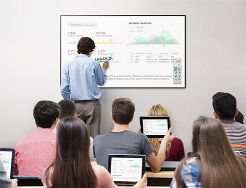 Samsung Interactive Displays with Whiteboard Technology