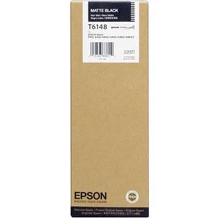 Epson | T6148 Matte Black Ink Cartridge (220 ml)