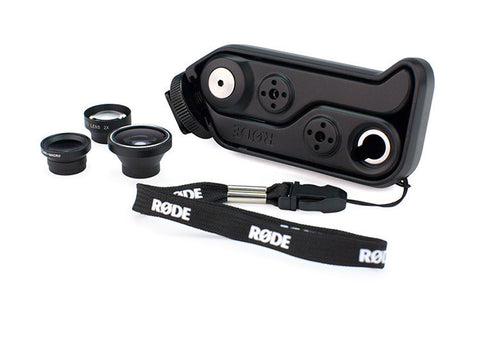 RØDEGrip+ | Multi-purpose mount & lens kit for iPhone®