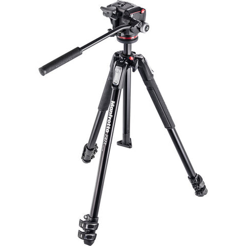 Manfrotto 190X3-2W with MHXPRO-2W Fluid Head