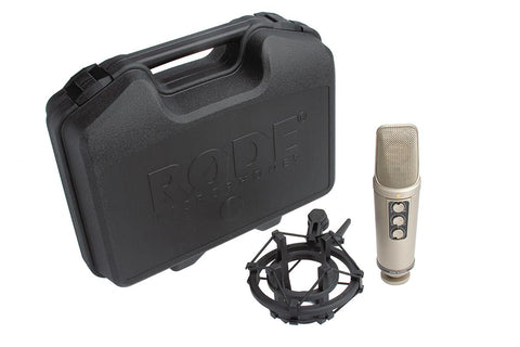 "RØDE NT2000 | Seamlessly Variable Dual 1"" Condenser Microphone"