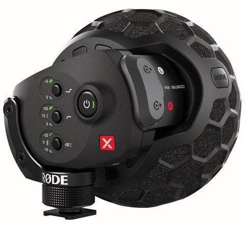 RØDE Stereo VideoMic X | Broadcast-grade stereo on-camera microphone