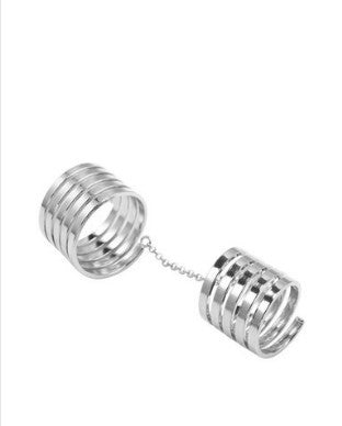 Jolie & Deen Double Spiral Ring