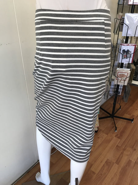 Miracle Striped Skirt
