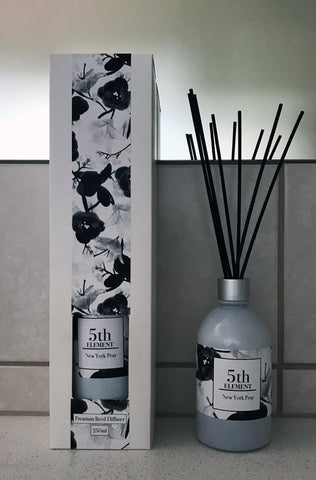 5th Element Melbourne 250ml Reed Diffuser - New York Pear