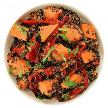 Salad | Black Quinoa with Sweet Potato - Wholesome Works