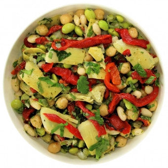 Salad | Mediterranean Chick Pea (Gluten Free & Vegan) - Wholesome Works