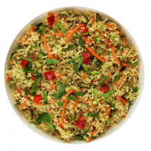 Salad-Coconut Coriander Quinoa w Almonds - Wholesome Works