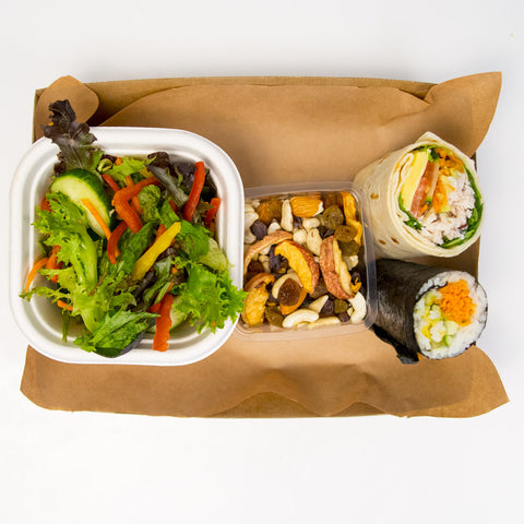 Vegetarian Sushi Deluxe Lunch Box - Wholesome Works