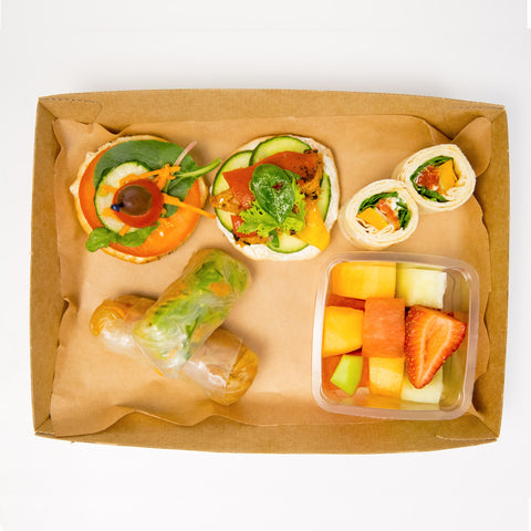 Vegetarian Executive Lunch Box - Wholesome Works