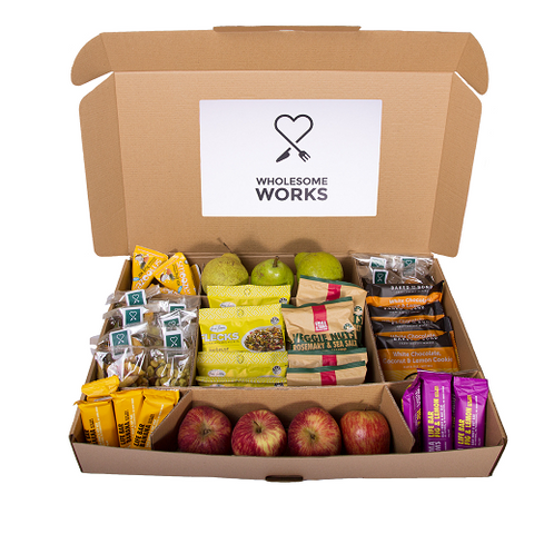 A Box of Wholesome Snacks - Wholesome Works