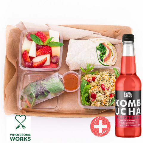 Healthy Heart Lunch Box Plus Free Kombucha
