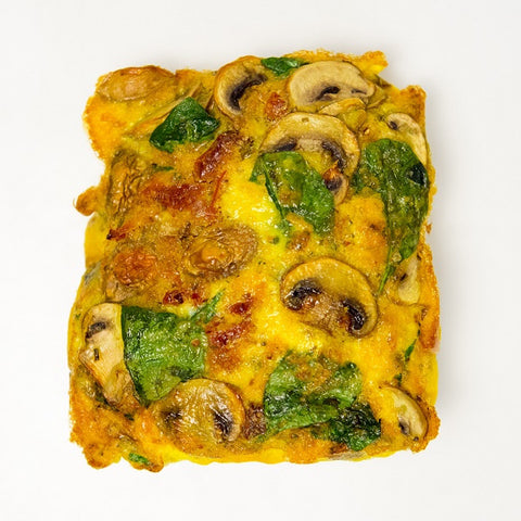 Vegetarian Breakfast Frittata (Gluten Free) - Wholesome Works