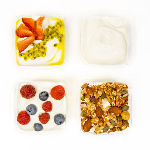 Healthy Yoghurt Tubs (Gluten Free) - Wholesome Works