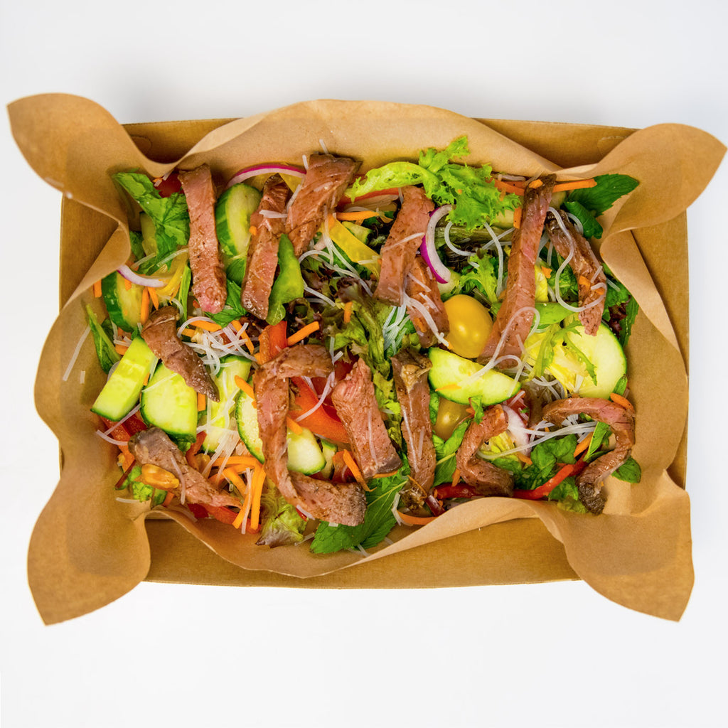 Beef Vietnamese Noodle Salad (Gluten Free) - Wholesome Works