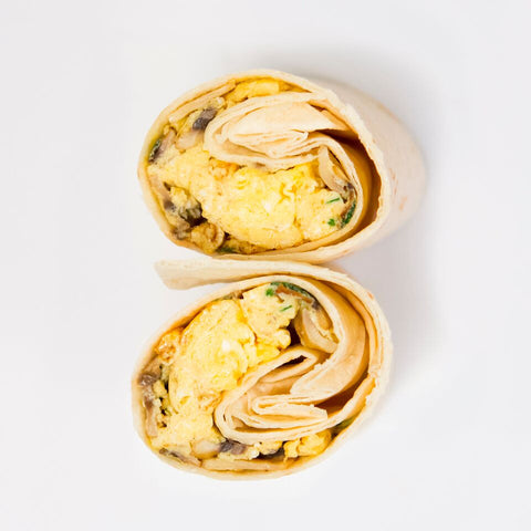 Vegetarian Breakfast Wrap - Wholesome Works