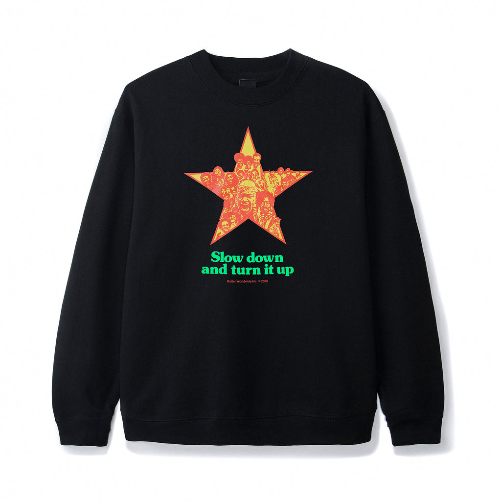 Turn It Up Crewneck