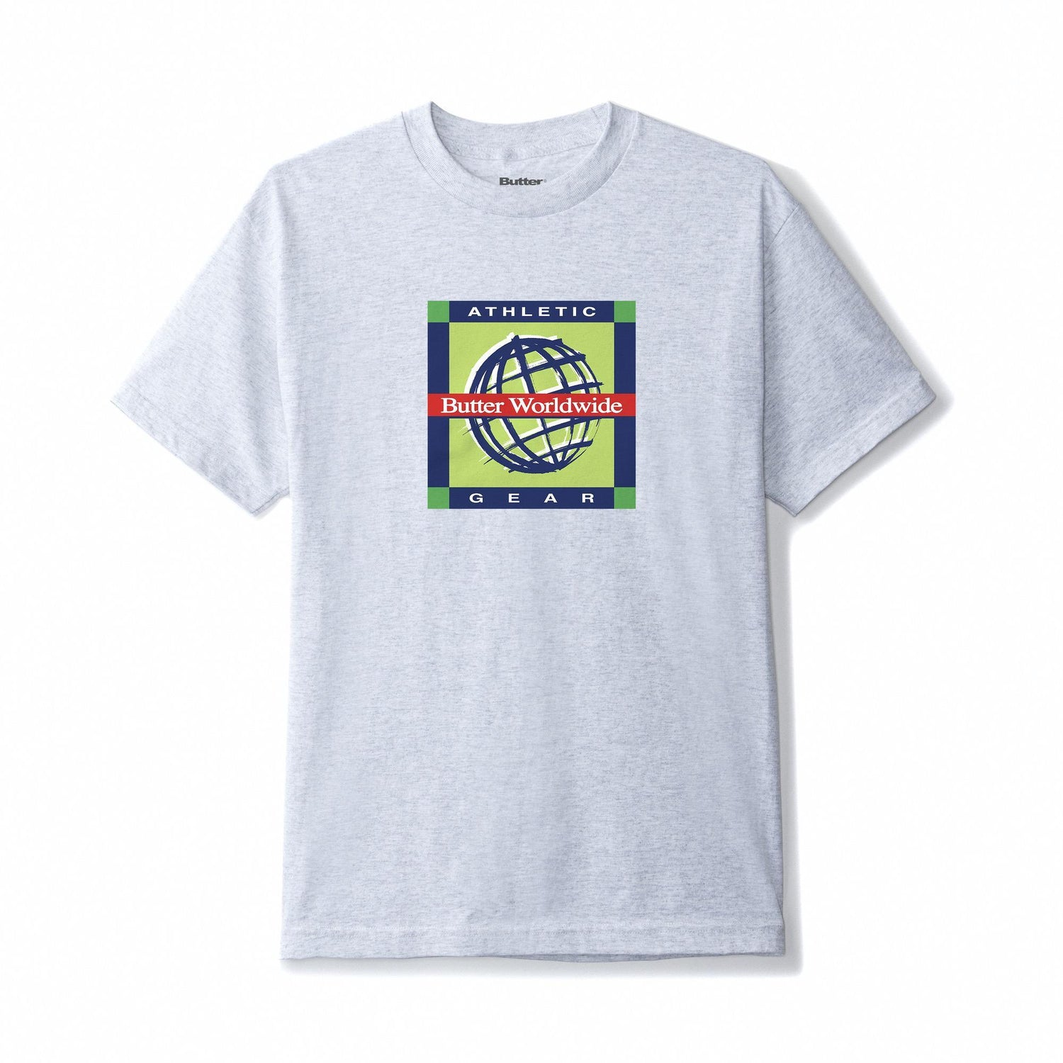 Athletic Gear Tee, Ash Grey