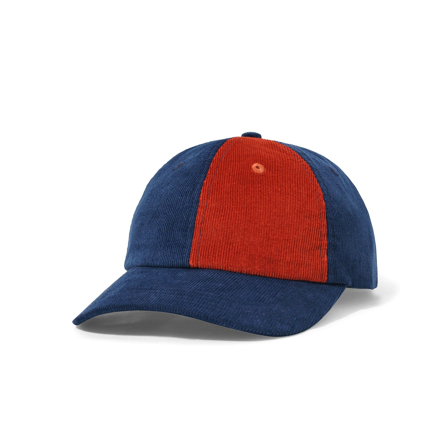 Fractions 6 Panel, Navy / Rust