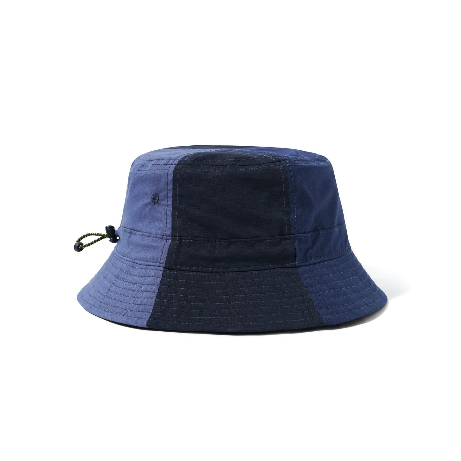 Patchwork Bucket Hat, Navy
