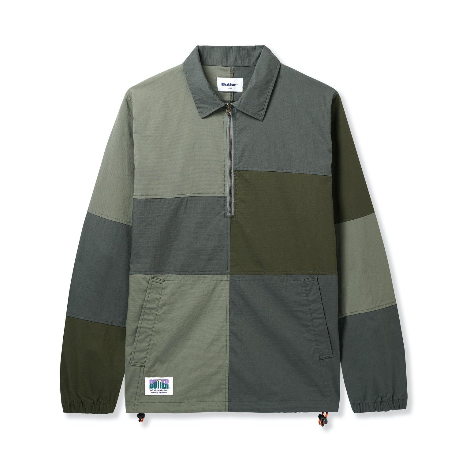 Patchwork Jacket, Army