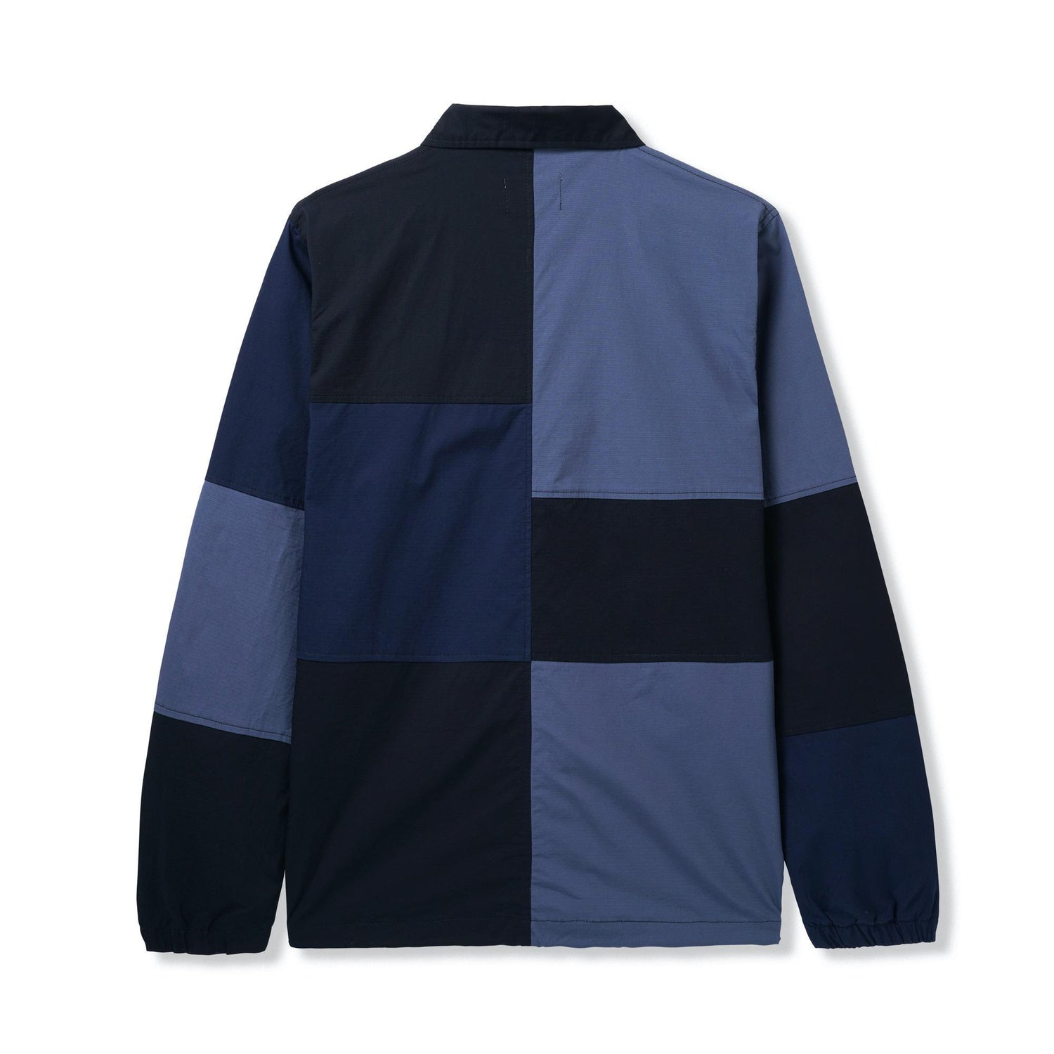 Patchwork Jacket, Navy