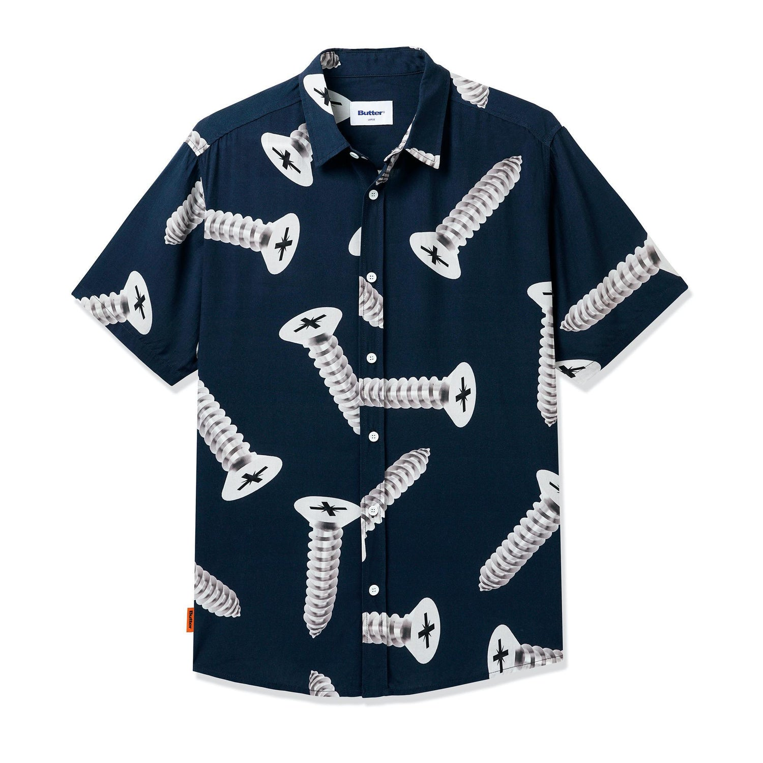 Screw S/S Shirt, Navy