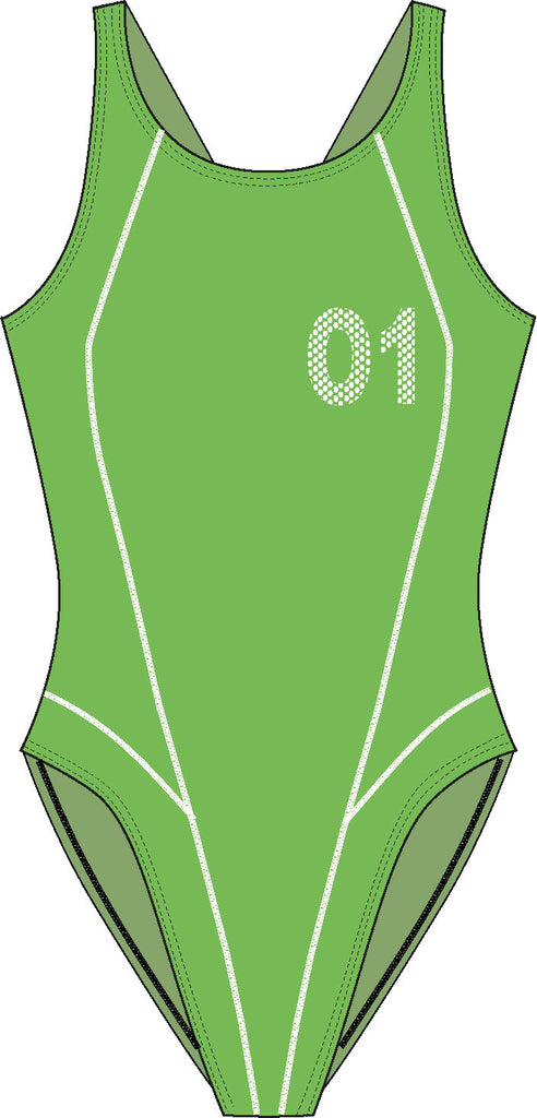 Women's Training J01 One-Piece Swimsuit, Jaked US Store