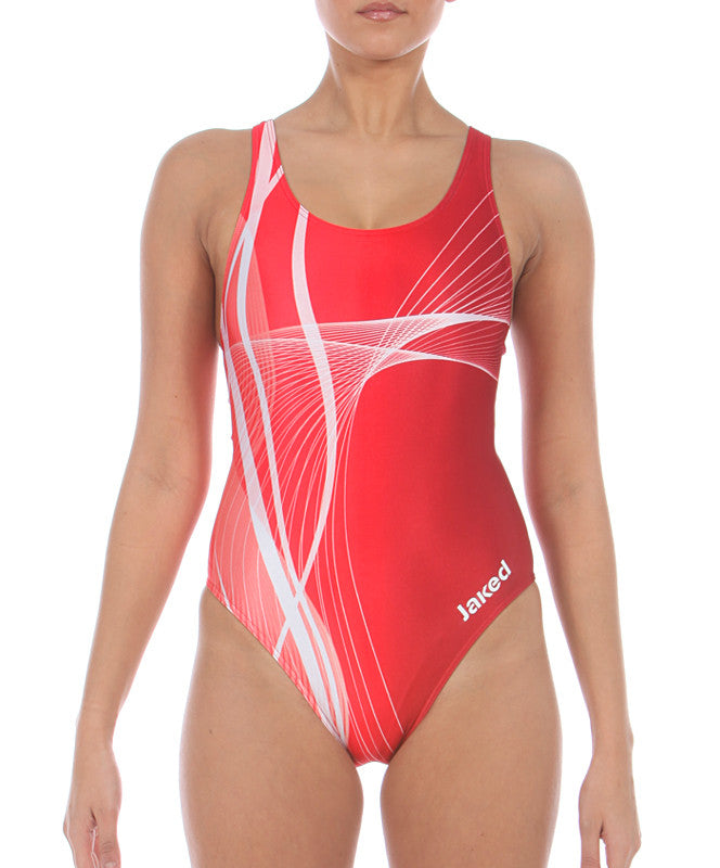Women's Training One-Piece Galaxy Swimsuit, Jaked US Store